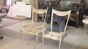 Maloof Rocking Chair Joints by Fine Woodworking Dining Chairs Tables Rocking Chairs Youtube