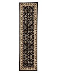 Carpet For Sale Sydney by Buy Sydney Collection Classic Rug Black With Ivory Border At