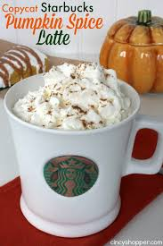 Pumpkin Spice Frappuccino Recipe Starbucks by Copycat Starbucks Pumpkin Spice Latte Recipe Cincyshopper