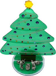 Christmas Tree Waterer 2 Liter Bottle by Murano Glass Christmas Trees Murano Glass Christmas Trees