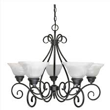 Nuvo Castillo Light Chandelier Lighting Lamp Design Ideas Drawing Wrought Iron And