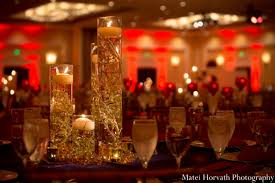 Red And Gold Wedding Decoration Ideas Strikingly Design 7 Table Decorations