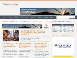 the bullion desk web directory