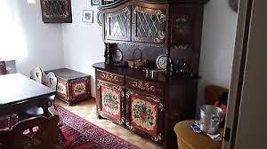voglauer bauernmöbel esszimmer 10teilig landhausstil handbemalt massiv holz ebay