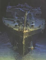 Titanic Sinking Simulation Real Time by The Wreck Of Rms Titanic Titanic Titanic Wreck And July 14