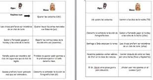 Spanish Realidades Oyes Dices Verb Conjugation Game For Levels 12