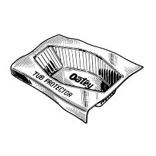 Zurn Floor Sink 2375 by Oatey Bath Tub Protectors Oatey