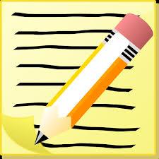 Pencil And Paper Clip Art at Clker vector clip art online