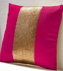 Green Purple Cushion Covers 45X45cm Hot Pink Orange Decorative In