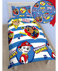 Paw Patrol Pawsome Single Duvet Cover Bedroom