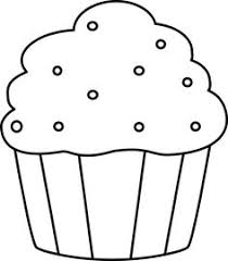 236x270 Black and White Cupcake with Sprinkles Coloring Food Yiyecek
