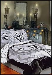 nightmare before christmas bedding halloween style