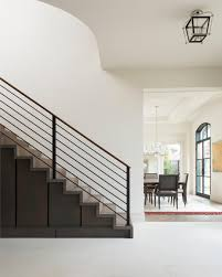 Modern Handrail Designs That Make The Staircase Stand Out | Modern ... Contemporary Railings Stainless Steel Cable Hudson Candlelight Homes Staircase The Views In South Best 25 Modern Stair Railing Ideas On Pinterest Stair Metal Sculpture Railings Railing Art With Custom Banister Elegant Black Gloss Acrylic Step Foot Nautical Inspired Home Decor Creatice Staircase Designs For Terrace Cases Glass Balustrade Stairs Chicago Design Interior Railingscomfortable