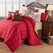 Bone Collector Bedding by Rustic Country Plaid Bedding Your Western Decor