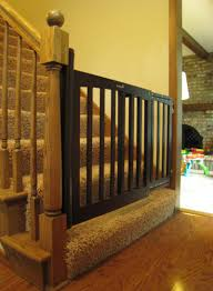 Model Staircase: Staircase Gate Awesome Picture Concept Image Of ... Infant Safety Gates For Stairs With Rod Iron Railings Child Safe Plexiglass Banister Shield Baby Homes Kidproofing The Banister From Incomplete Guide To Living Gate For With Diy Best Products Proofing Montgomery Gallery In Houston Tx Precious And Wall Proof Ideas Collection Of Solutions Cheap Way A Stairway Plexi Glass Long Island Ny Youtube Safety Stair Railings Fabric Weaved Through Spindles Children Och Balustrades Weland Ab