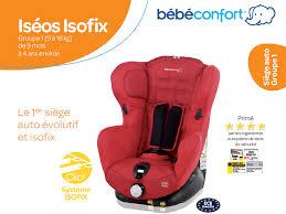 catégorie siège auto bébé bebe confort siège auto iséos isofix gr 1 achat vente siège