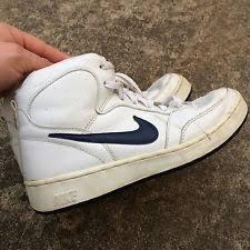 Vintage 1980s 90s Nike High Top Shoes Sneakers Skateboard Basketball Street 85