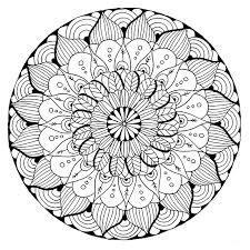 Brilliant Ideas Of Printable Mandala Art Coloring Pages Hard In Free