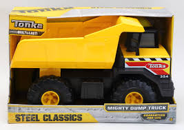 Tonka Steel Classic Mighty Dump Truck - Goliath Games :Goliath Games Tonka Classic Dump Truck Big W Top 10 Toys Games 2018 Steel Mighty Amazoncom Toughest Handle Color May Vary Mighty Toy Cement Mixer Yellow Mixers Mixers And Hot Wheels Wiki Fandom Powered By Wrhhotwheelswikiacom Large Big Building Vehicle On Onbuy 354 Item90691 3 Ebay Truck The 12v Youtube Inside Power