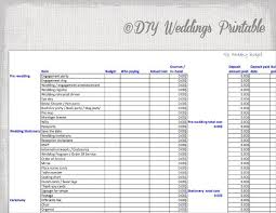 Wedding Budget Spread Sheet For Spreadsheet Excel To Save Your Money Plan