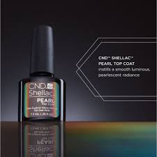 Cnd Led Lamp Australia by Shellac Special Effect Top Coat Pearl Top Coat 0 25 Oz 768776