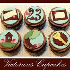 New Home Cupcakes Fondant Giant Themed Cupcake Cakes