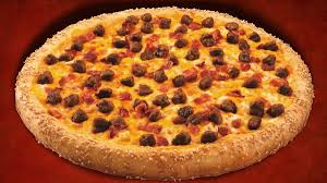Bacon Cheeseburger Becomes A Delicious Pizza