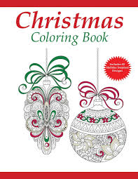 Amazon Christmas Coloring Book A Holiday For Adults Adult Books Volume 1 9781942268215 Pages