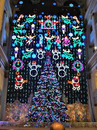 wanamaker s light show at macy s center city philadelphia the