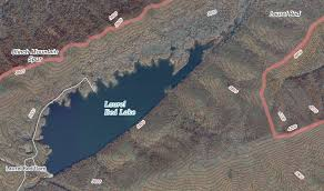 Laurel Bed Lake by County Geography Of Virginia