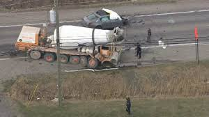 100 Cement Truck Video Driver Killed In Headon Crash With Cement Truck In Macomb