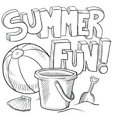 Free Printable Summer Coloring Pages Kids For Awe Inspiring Page Cool Activities Preschool C