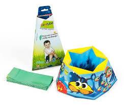 tipopi le pot de bébé qui se range dans un sac le baby