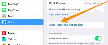 How to Clear History Cache and Cookies in Safari on iPhone or iPad