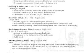 Landscape Resume Impressive Samples Management Design Examples Free