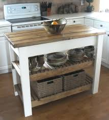 Building Kitchen Island Beautiful Rustic Wood Rolling From Stock Cabinets Full Size