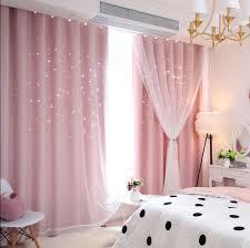 großhandel vorhang durchbrochene vorhang fertig prinzessin wind kinder fenster vorhang schlafzimmer wohnzimmer blackout tücher