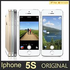 100% Unlocked Original iphone 5S 16GB Cell Phone WiFi GPS 8 0MP