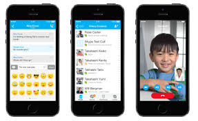 Skype for the iPhone and iPad updated for iOS 7