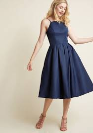 Chi London Beloved And Beyond Midi Dress In Navy