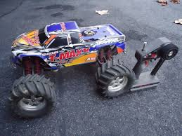 100 Gas Rc Monster Trucks Traxxas TMaxx 25 Nitro 110 RC Truck ASIS Project