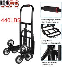 440lbs 6 Wheel Stair Climber Hand Truck Moving Dolly Cart Roll Cart ... Appliance Truck 4th Wheel Attachment And Standard Release Roughneck Industrial 1200lb Review Amazoncom Professional 2 Wheels Hand Dolly Cart Moving Mobile Lift Delivery Truck Fridge Washing Machine Magline Standard Hand Trucks Our Most Popular Units Ever Product Youtube Alinum W Dual Ratchet Strap Heavy Duty Steel Trucks On Wesco Products Inc Shop Gleason 40710s 700 Lb Capacity Dollies At Lowescom Amazonco