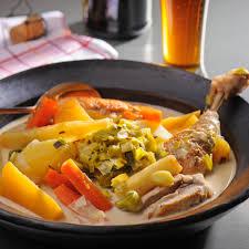 cuisiner rutabaga recette waterzoï de poulet panais rutabaga poireau plats
