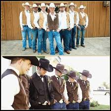Western Wedding Best Of Rustic Groomsmen Attire Wear All Black For A More Formal