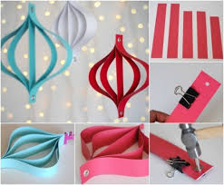 Here Are The Examples Of Some Easy Paper Craft Work You Can Also Use Them In Party Decorations