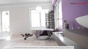 ideen für fliesen in bad und küche der mediterrane travertin light stonenaturelle ag