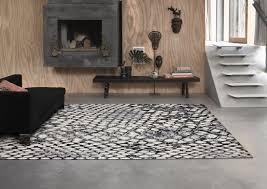 teppich grau schwarz kurzflor snake wecon home teppich