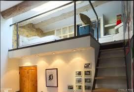 chambre en mezzanine mezzanine chambre bureau design industriel c 039 design côté