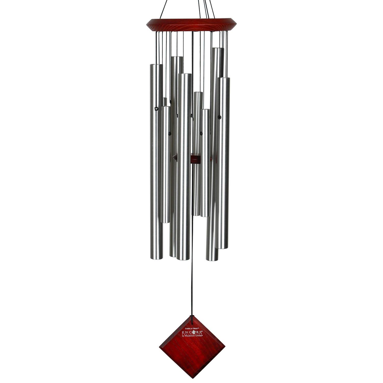 Woodstock Encore Chimes of Orion Silver Wind Chime