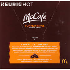 Green Mountain Pumpkin Spice K Cups by Mccafé Limited Edition Pumpkin Spice Coffee K Cup Pods 18 Ct Box